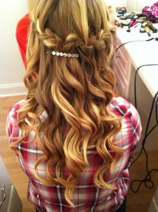 slika 418 Pet jednostavnih frizura za dugu kosu
