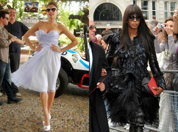 slika 5. Modni stil poznatih: Američke vs. britanske zvezde