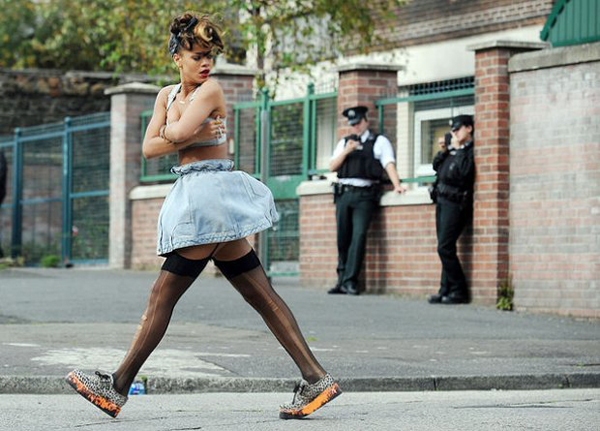 slika 63 Zvezdani preobražaji: Rihanna