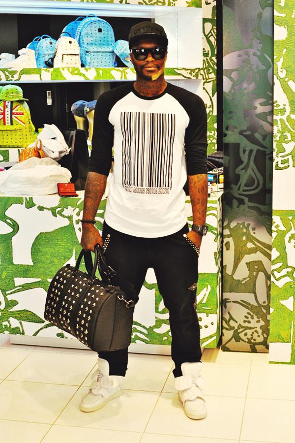 slika 78 Stil sportista: Djibril Cissé