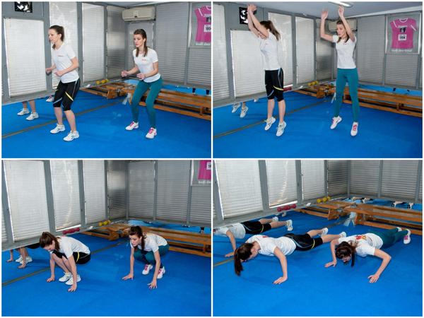 vezba 4 Wannabe Fit: Trening za sportske cice