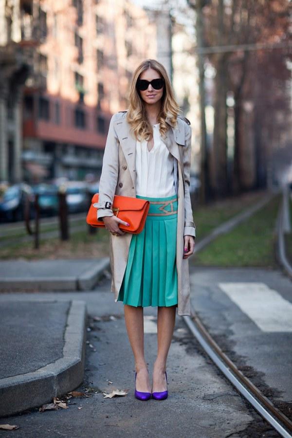 10.8 Street Style: Chiara Ferragni
