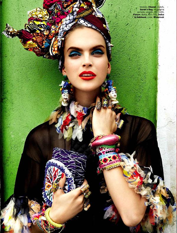 120 Vogue Brasil: Koloritna čarolija