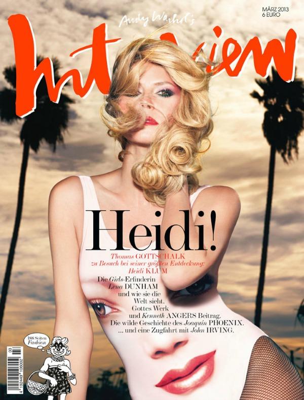 "150 Modni zalogaj: Heidi Klum za nemački ""Interview"""