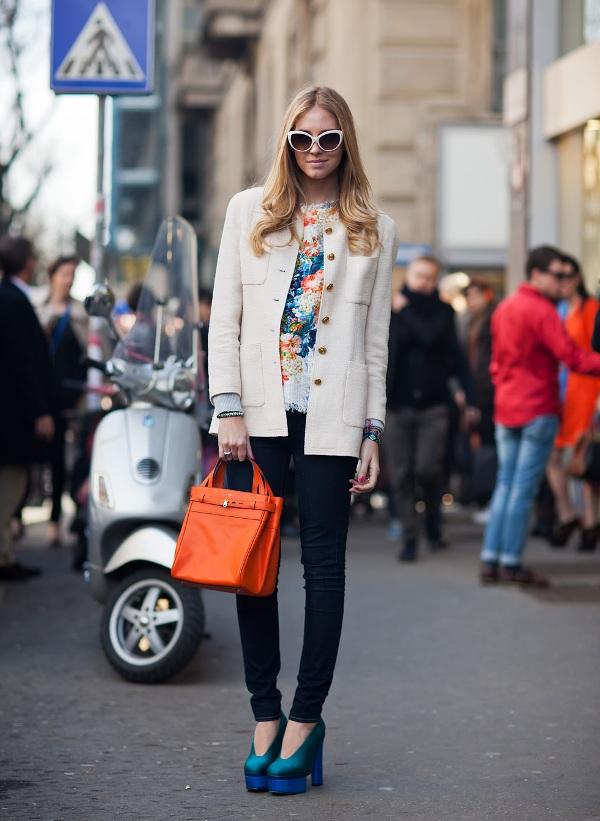 2.11 Street Style: Chiara Ferragni