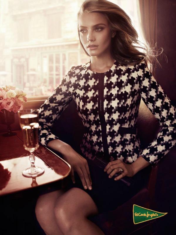 242 El Corte Ingles: Anna Jagodzinska i glamur
