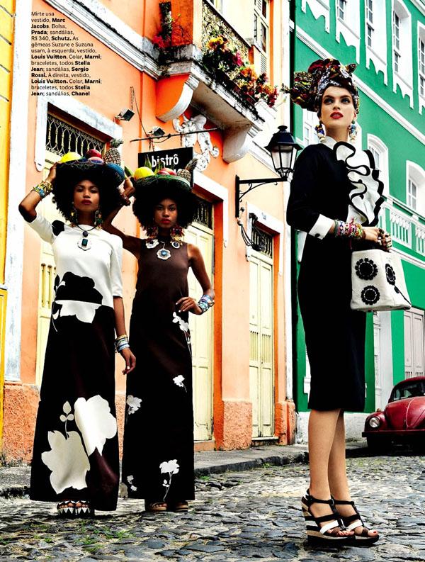 312 Vogue Brasil: Koloritna čarolija