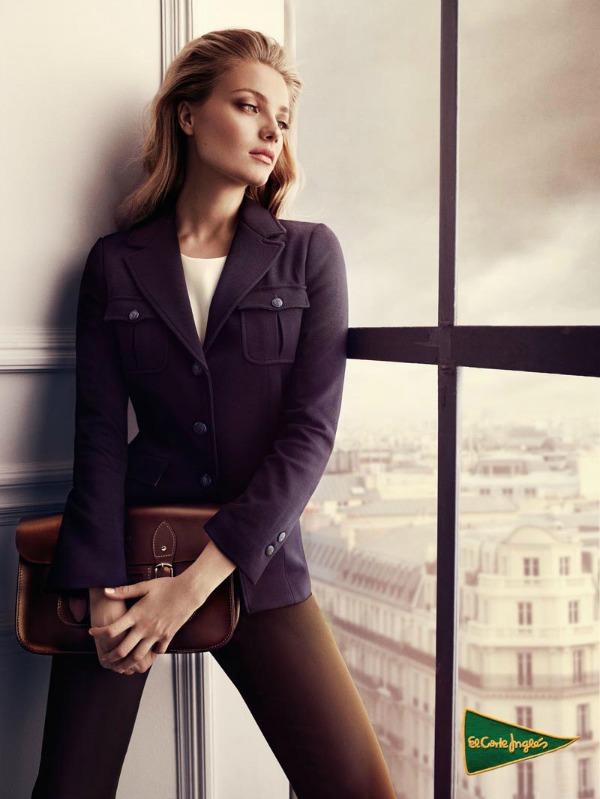 336 El Corte Ingles: Anna Jagodzinska i glamur