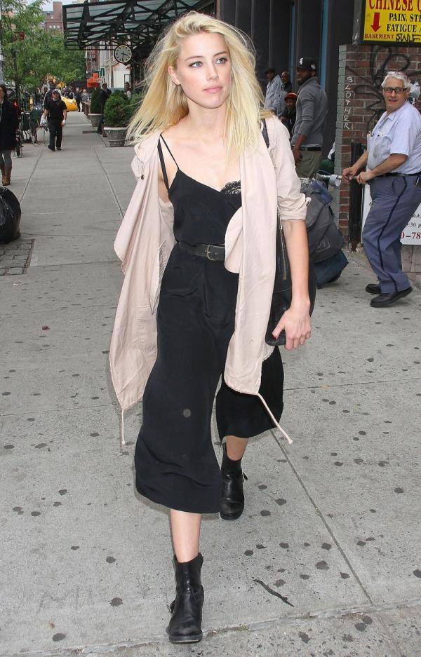 4.13 Street Style: Amber Heard