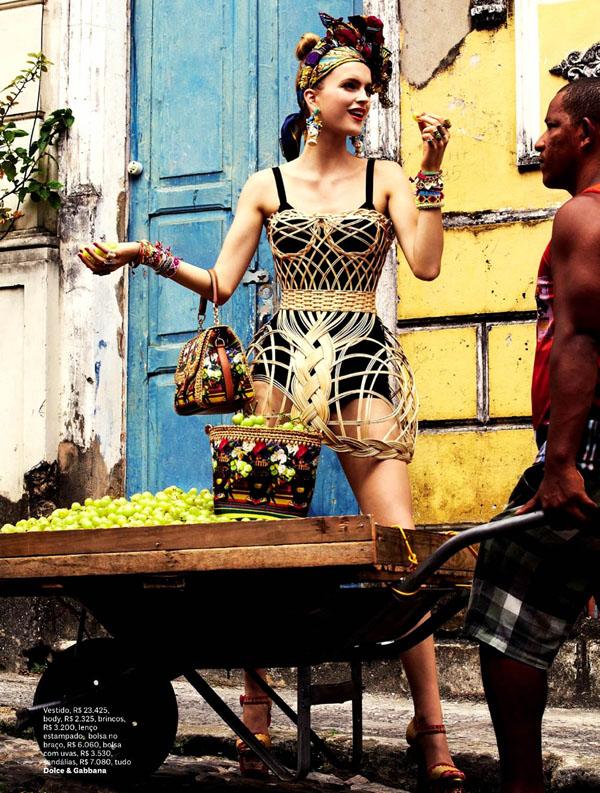 411 Vogue Brasil: Koloritna čarolija