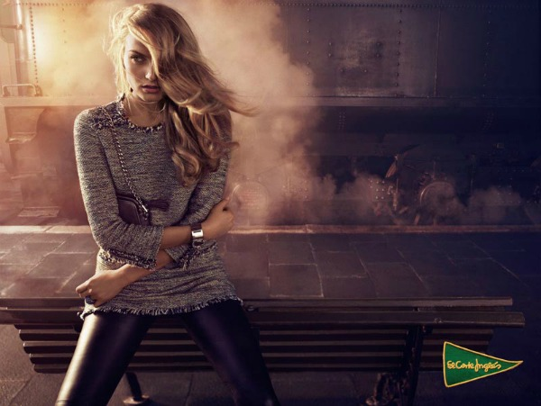 520 El Corte Ingles: Anna Jagodzinska i glamur