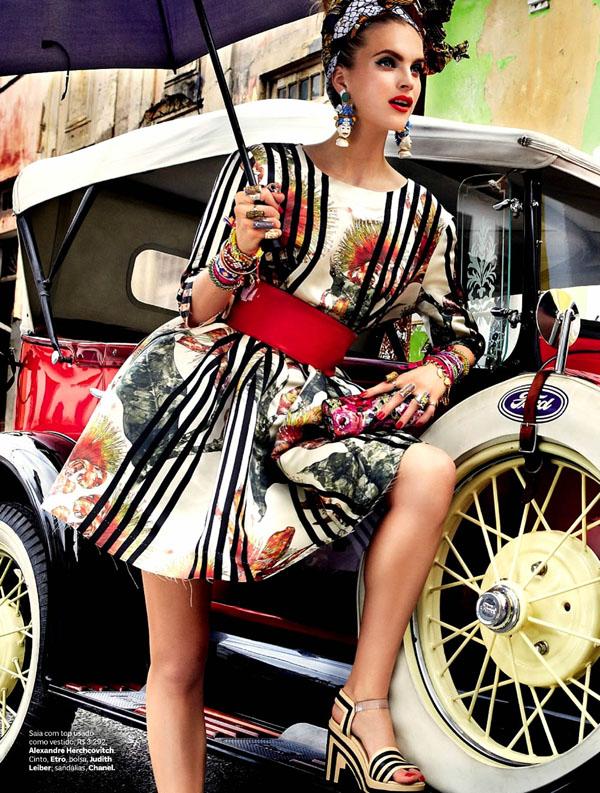 57 Vogue Brasil: Koloritna čarolija
