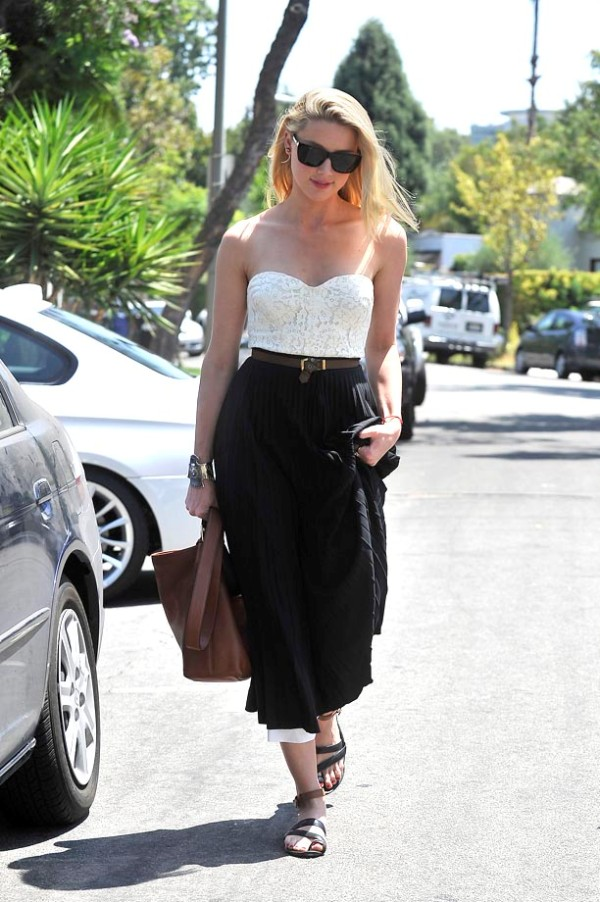 6.11 Street Style: Amber Heard