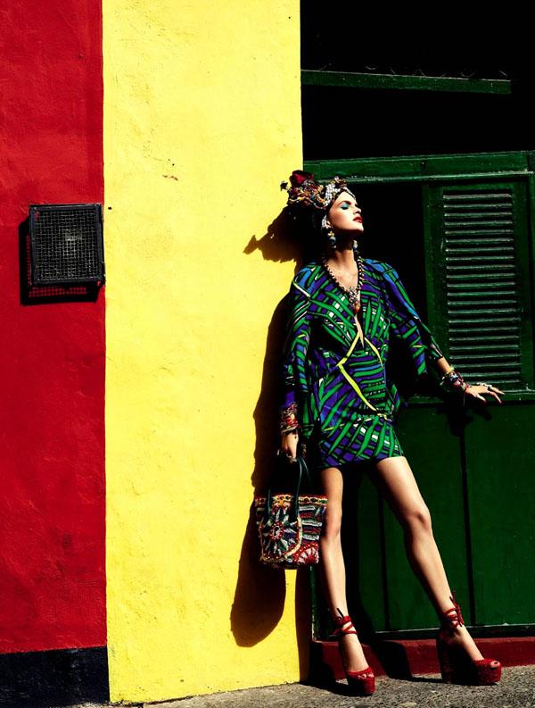 65 Vogue Brasil: Koloritna čarolija