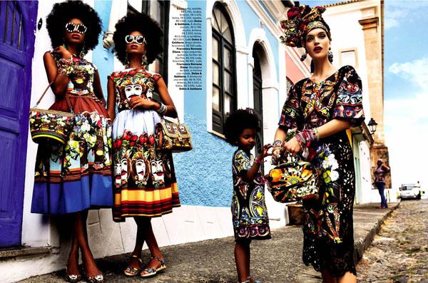 75 Vogue Brasil: Koloritna čarolija
