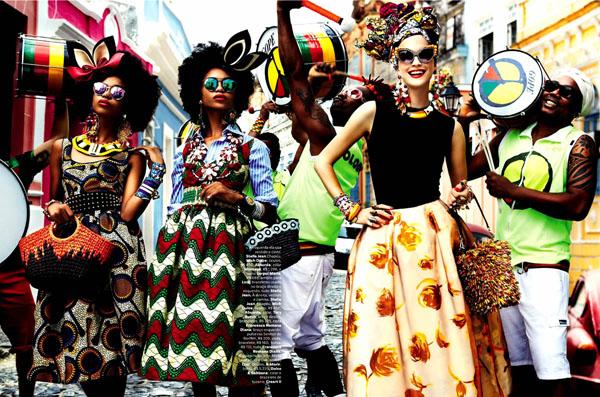84 Vogue Brasil: Koloritna čarolija