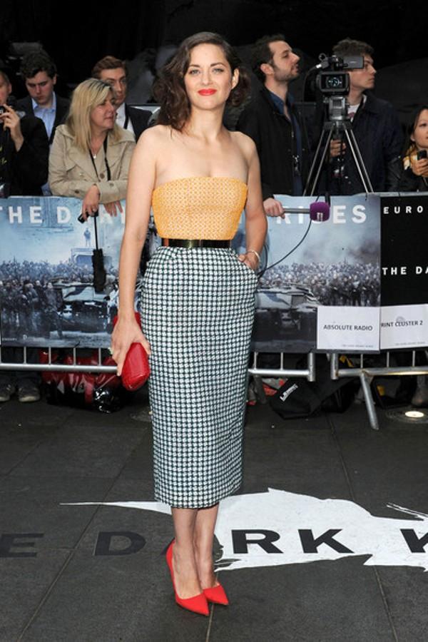 9.10 10 haljina: Marion Cotillard