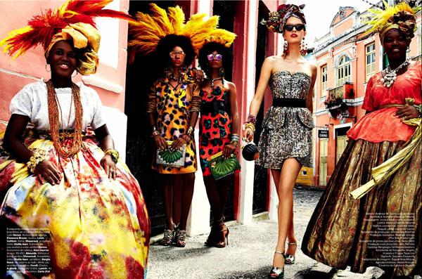 92 Vogue Brasil: Koloritna čarolija