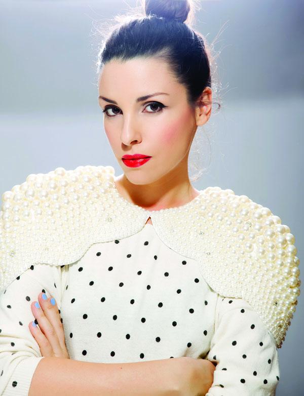 ANA LJUBINKOVIC the designer photo Milos NAdazdin Promocija srpske mode i umetnosti na Londonskom Fashion Weeku