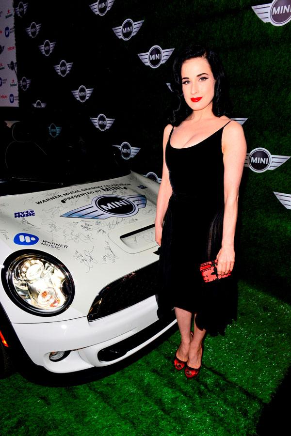 Dita fon Tiz na dodeli Gremi nagrada pored MINIJA Luda MINI žurka seli se iz Los Anđelesa na Kop!