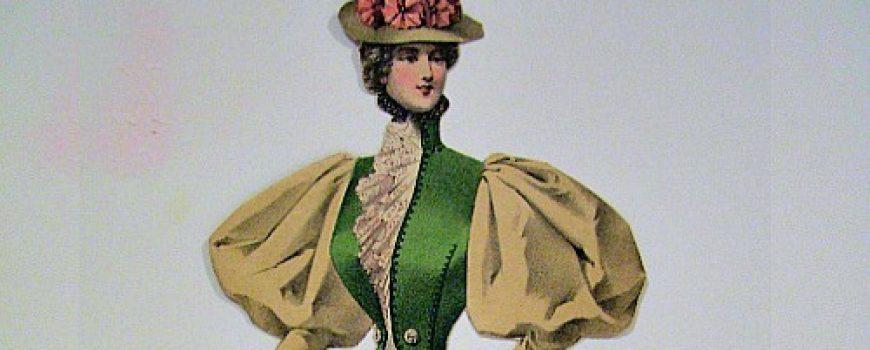 Istorija mode: 1890-1900.