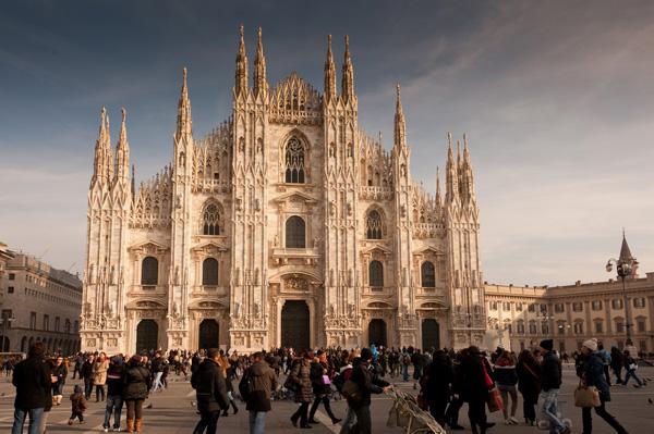 SLIKA 2 Milanska katedrala Najlepše od Evrope: Italija