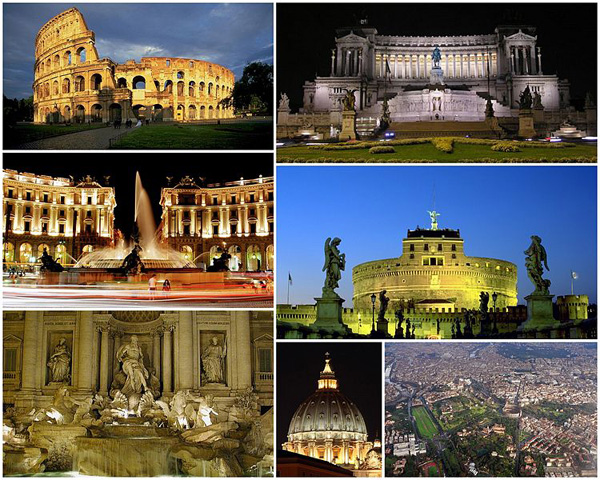 SLIKA 5 Rim kolaz Najlepše od Evrope: Italija