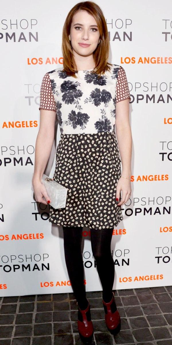 SLIKA111 Celebrity stil dana: Emma Roberts