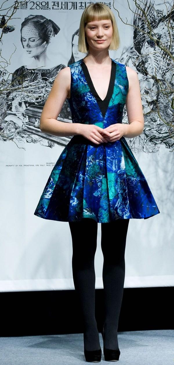 SLIKA116 Celebrity stil dana: Mia Wasikowska