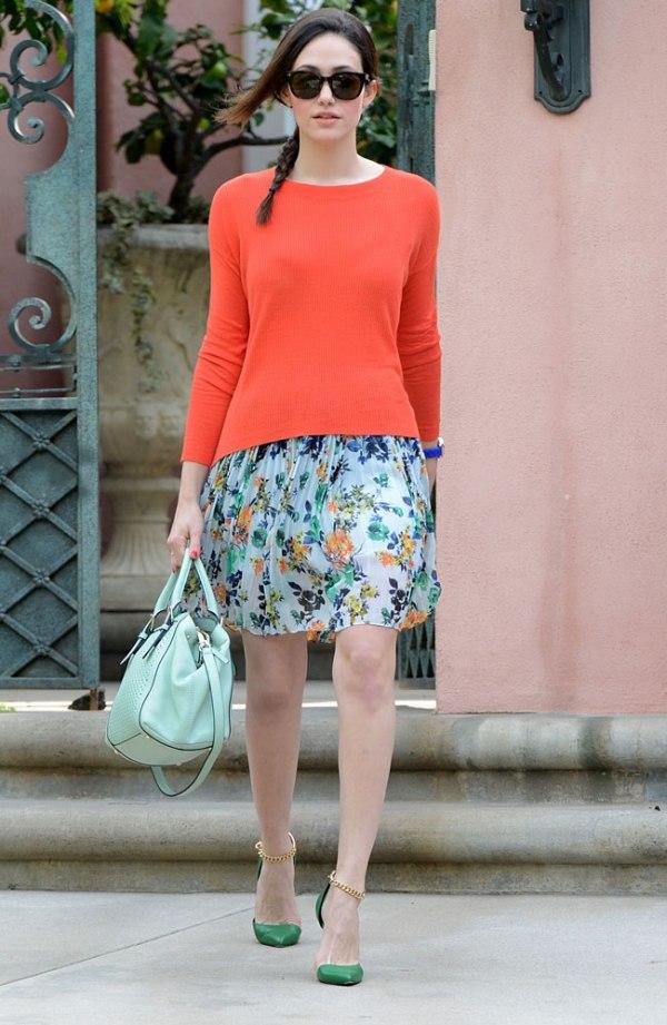 SLIKA13 Celebrity stil dana: Emmy Rossum