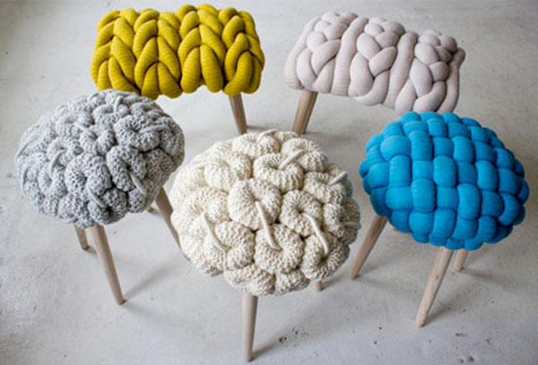 Slika 127 Inspiracija u domu: Predmeti od vune