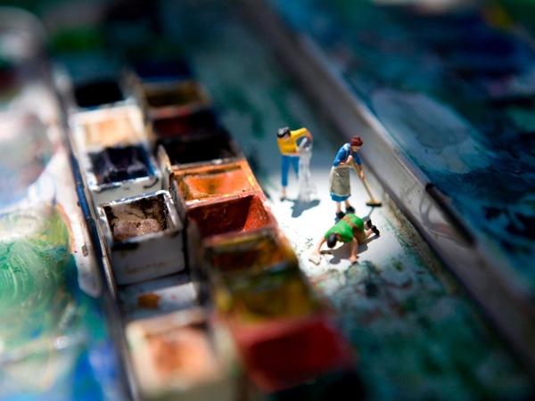 """Slika 153 """"Plastični život"""": Vincent Bousserez"""