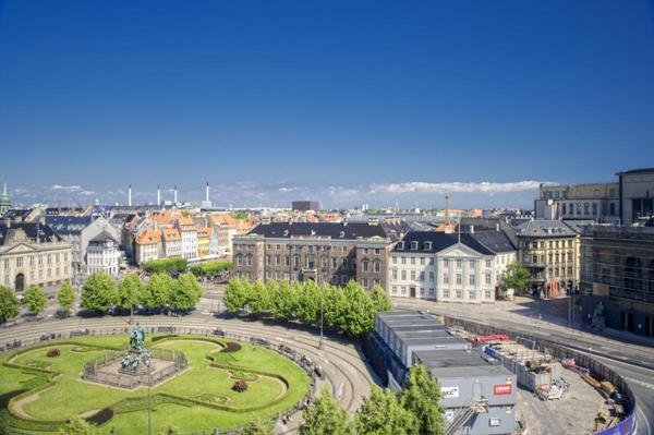 Slika 192 Trk na trg: Kongens Nytorv, Kopenhagen