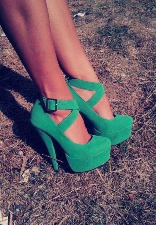 Slika 23 Najlepše smaragdnozelene cipele
