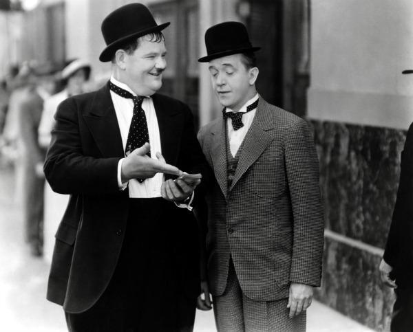 Slika 240 Najduhovitiji mršavko i debeljuca 20. veka