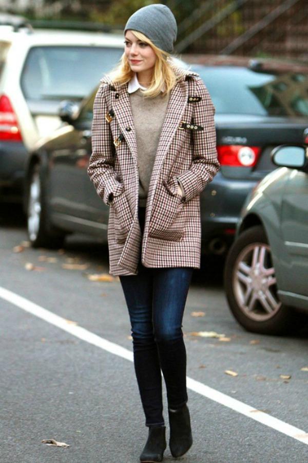 Slika 338 Street Style: Emma Stone