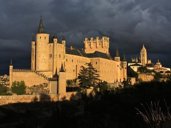 Slika 350 Najlepši zamkovi Španije