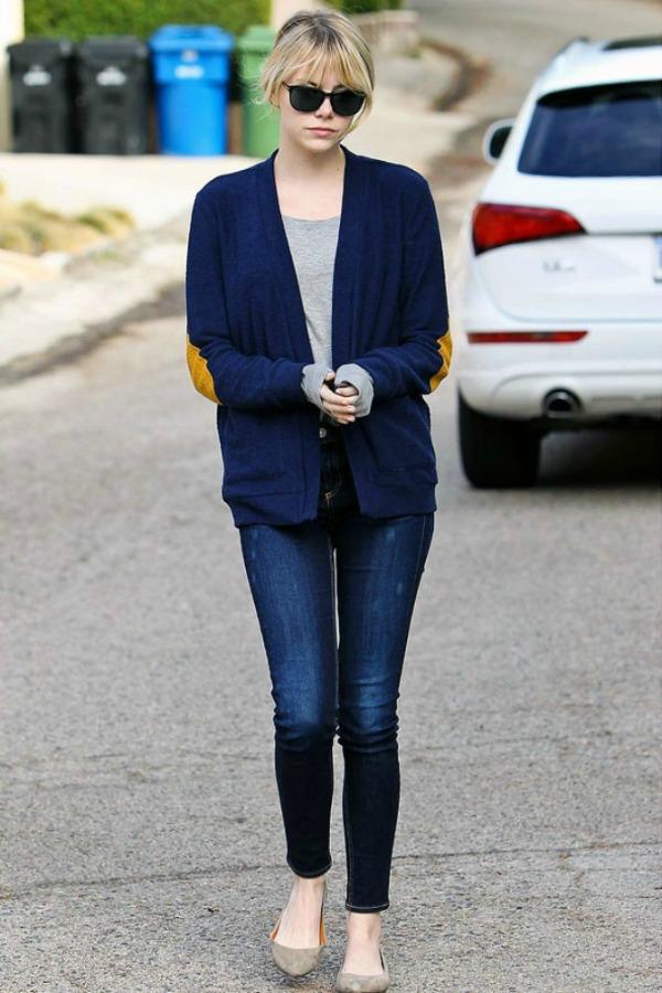 Slika 433 Street Style: Emma Stone