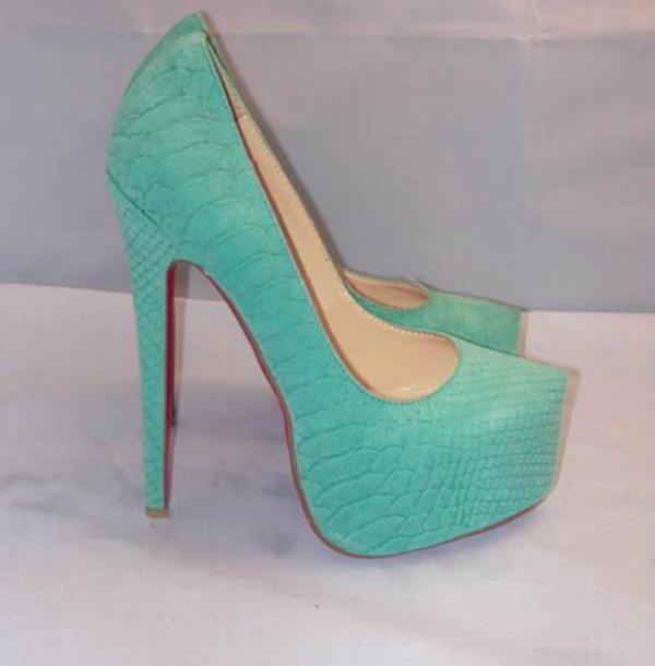 Slika 53 Najlepše smaragdnozelene cipele