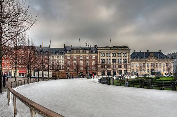 Slika 625 Trk na trg: Kongens Nytorv, Kopenhagen