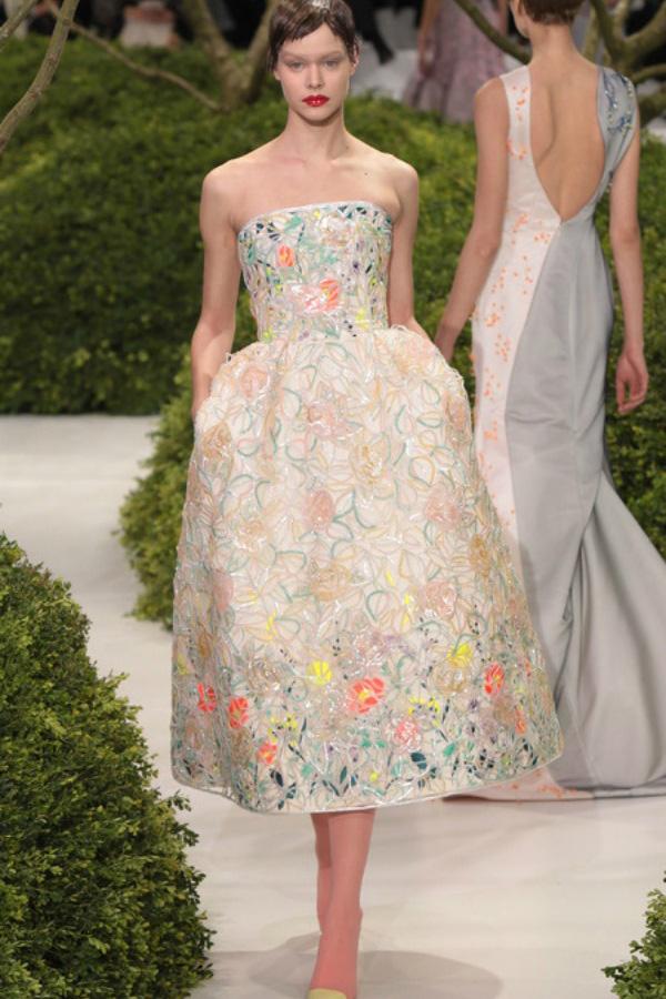 Slika 63 Najlepše haljine sa Nedelje mode u Parizu