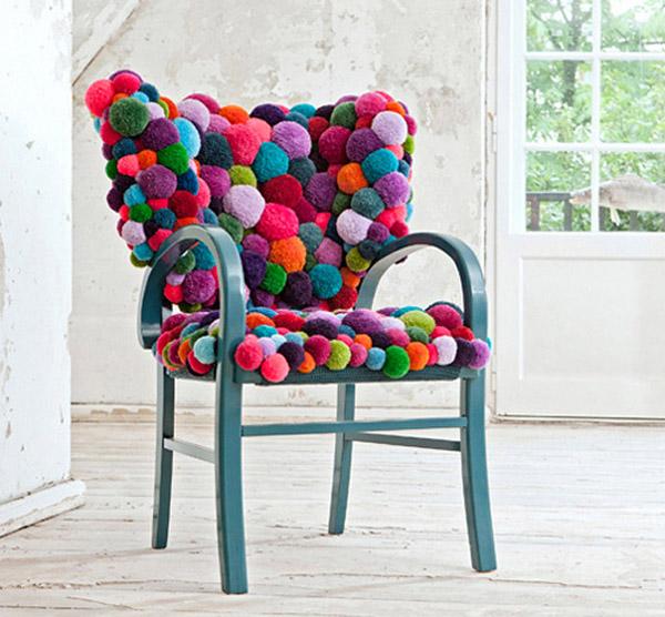 Slika 76 Inspiracija u domu: Predmeti od vune