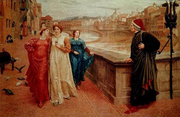 Slika114 Ljubavi svetskih pisaca: Dante Alighieri