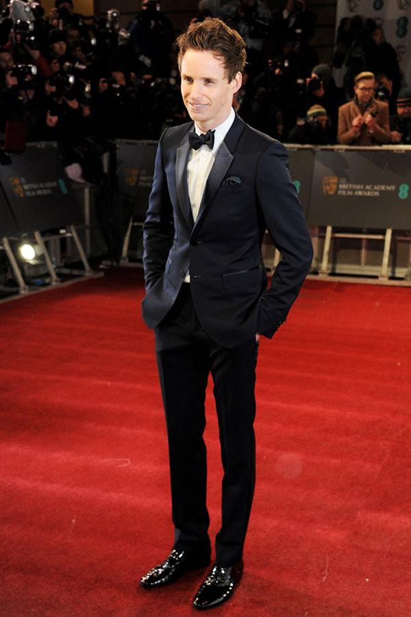 eredmayne v 10feb13 getty b 592x888 Fashion Police: BAFTA Awards 2013