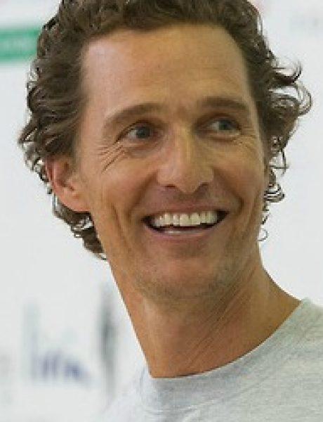 Modni zalogaj: Matthew McConaughey pokreće liniju muške odeće!