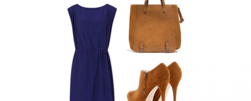 Look of the Day: Plava haljina