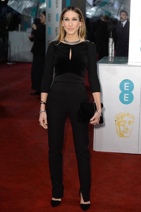 sjessicaparker v 10feb13 getty b Fashion Police: BAFTA Awards 2013