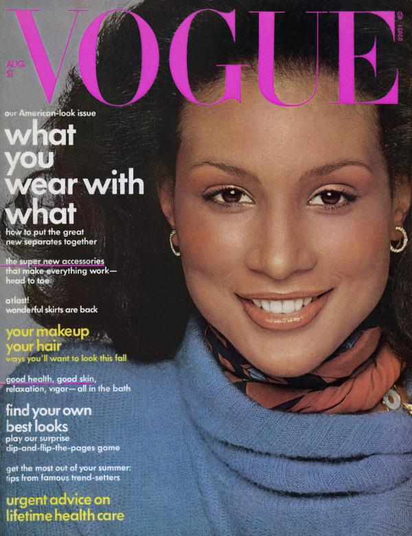 "slika 114 Moda na naslovnici: Prva crnkinja na naslovnici ""Vogue"" a"