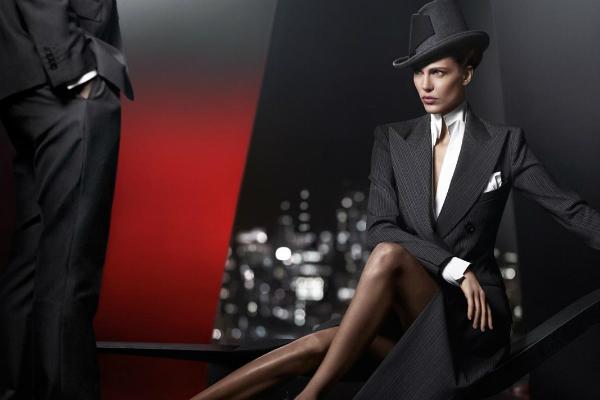 slika 141 Donna Karan: Zima u znaku dominantne žene