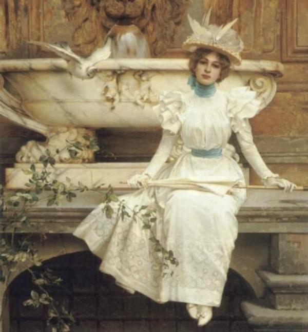 slika 142 Istorija mode: 1890 1900.